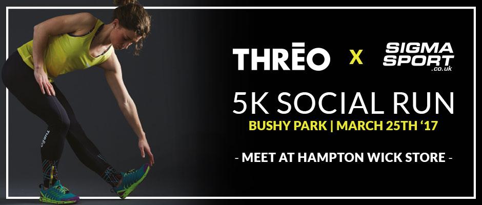 Sigma Sport x THREO Bushy Park Run