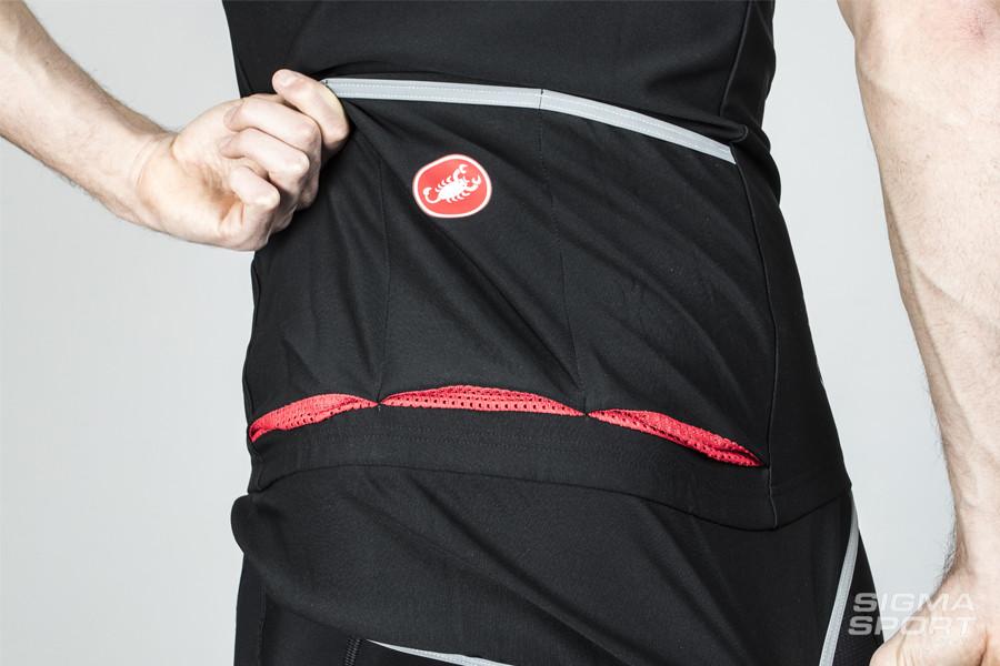 Castelli Gabba 2 Rear Pockets