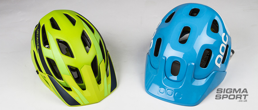 Helmet guide Mountain Bike
