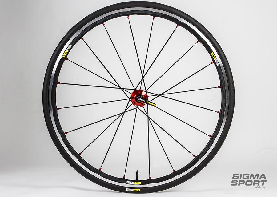 Mavic Ksyrium Elite wheelset front