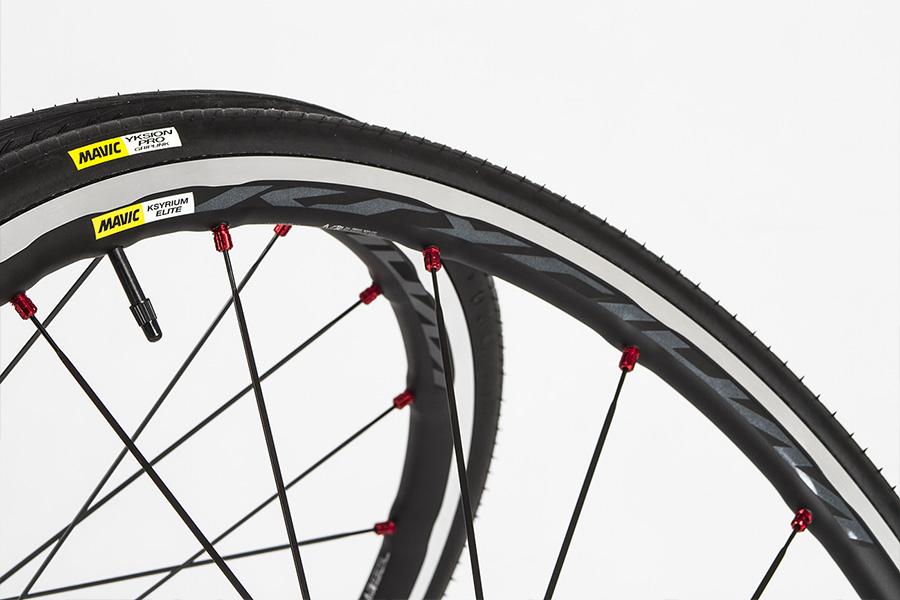 Mavic Ksyrium Elite wheelset logo