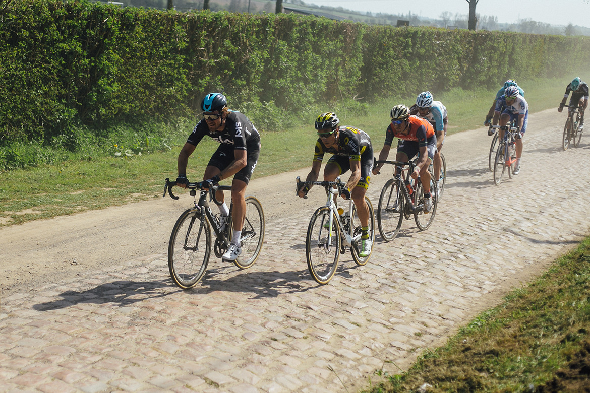 Roubaix Head of the Peloton