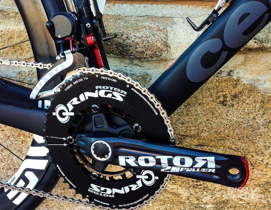 Rotor Uno crankset
