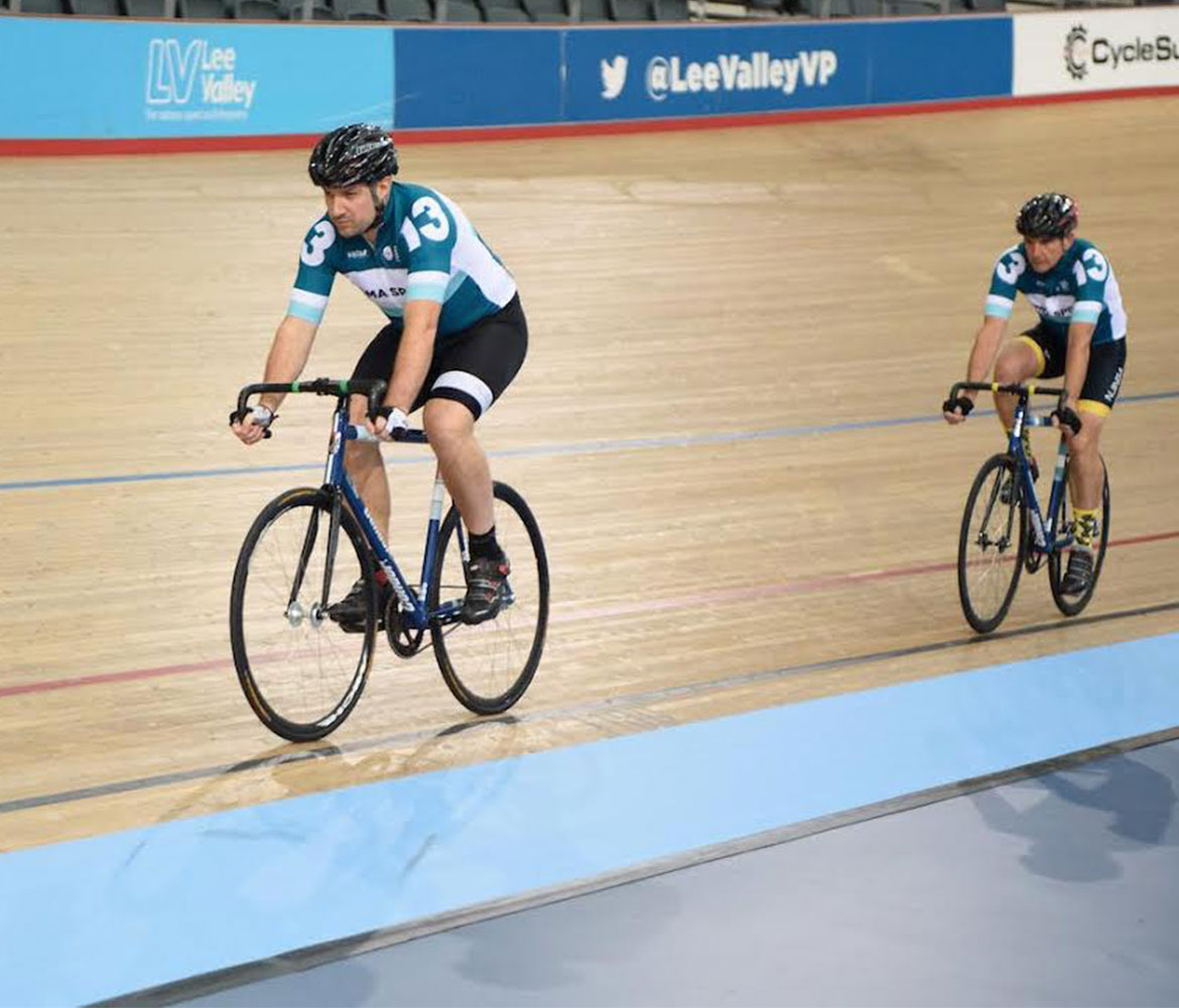 Track cycling at The Velodrome Pursuit