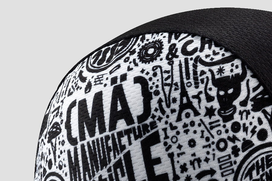 Mavic Roadie II Limited Edition Paris-Nice Cap Detail