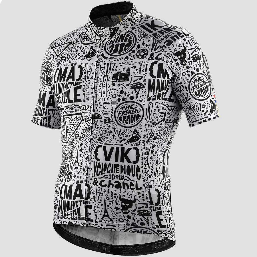 Mavic Cosmic II Limited Edition Paris-Nice Short Sleeve Jersey