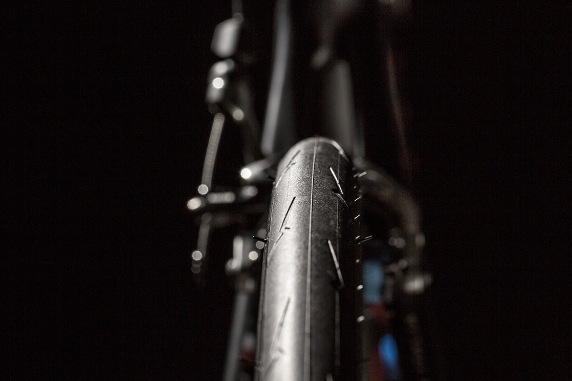 Pirelli Cycling Tyre Tread