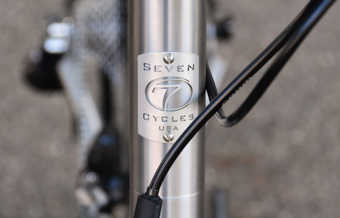Seven Cycles Axiom SL Road Frameset Headtube