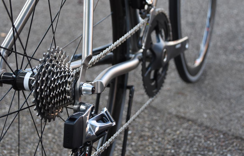 Seven Cycles Axiom SL Road Bike Chainstay