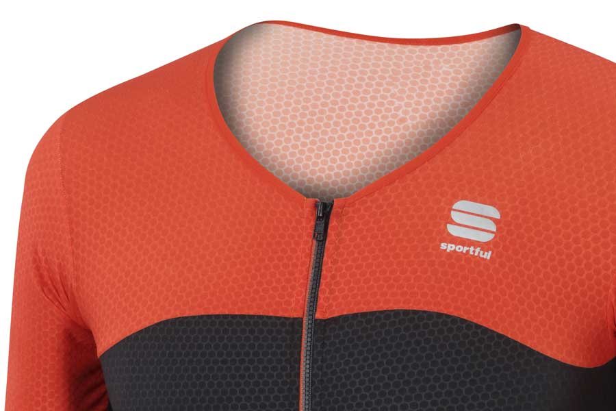 Sportful R&D Cima Short Sleeve Jersey Detail Front