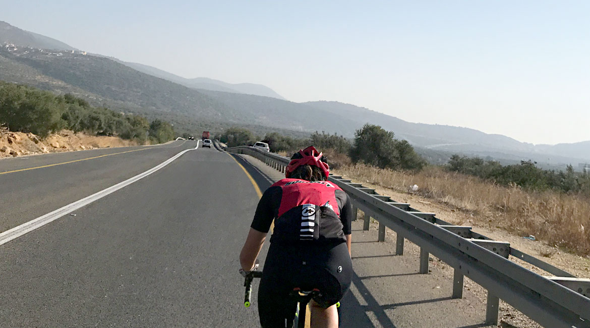 A Cyclists Bucket List An Israeli Adventure Rider on road