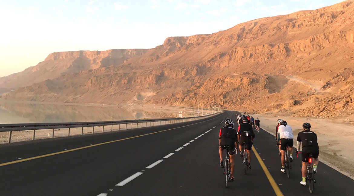 A Cyclists Bucket List An Israeli Adventure Day Three Dead Sea