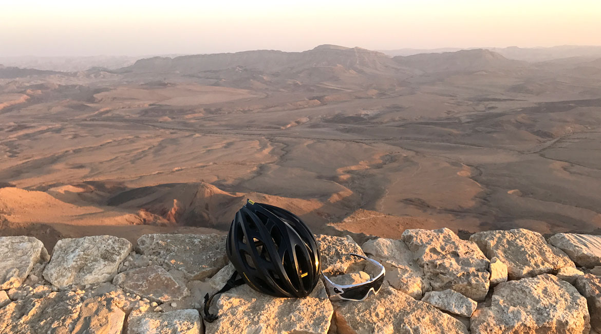 A Cyclists Bucket List An Israeli Adventure Day Three Mitzpe Ramon View