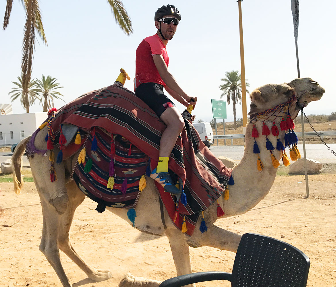 A Cyclists Bucket List An Israeli Adventure Day Three Camel Ride
