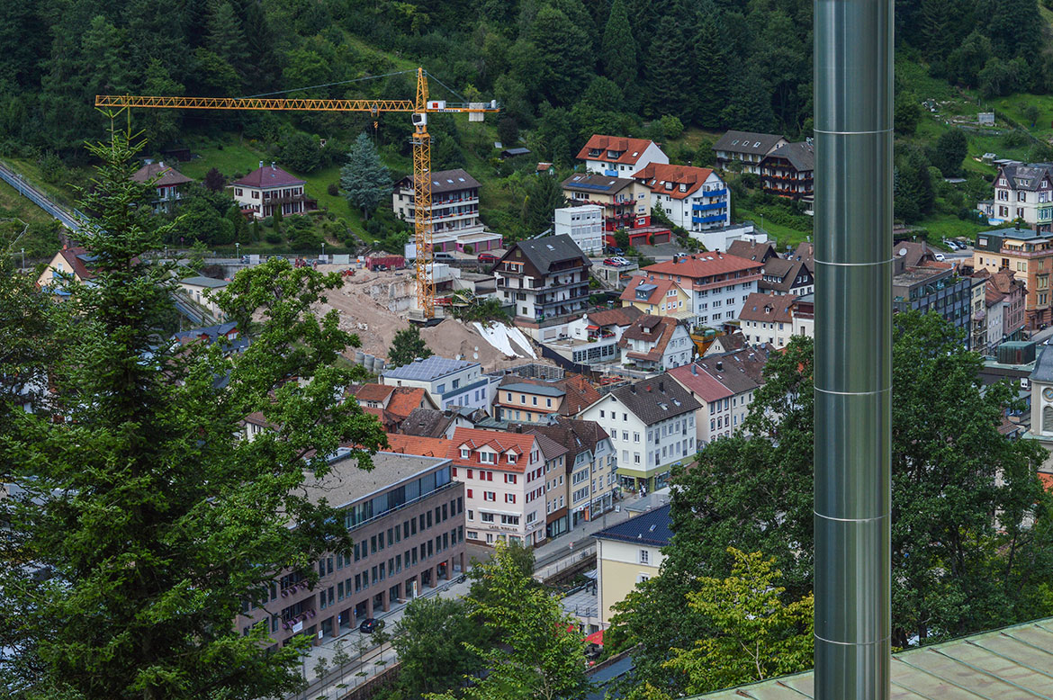 Bad Wildbad from above