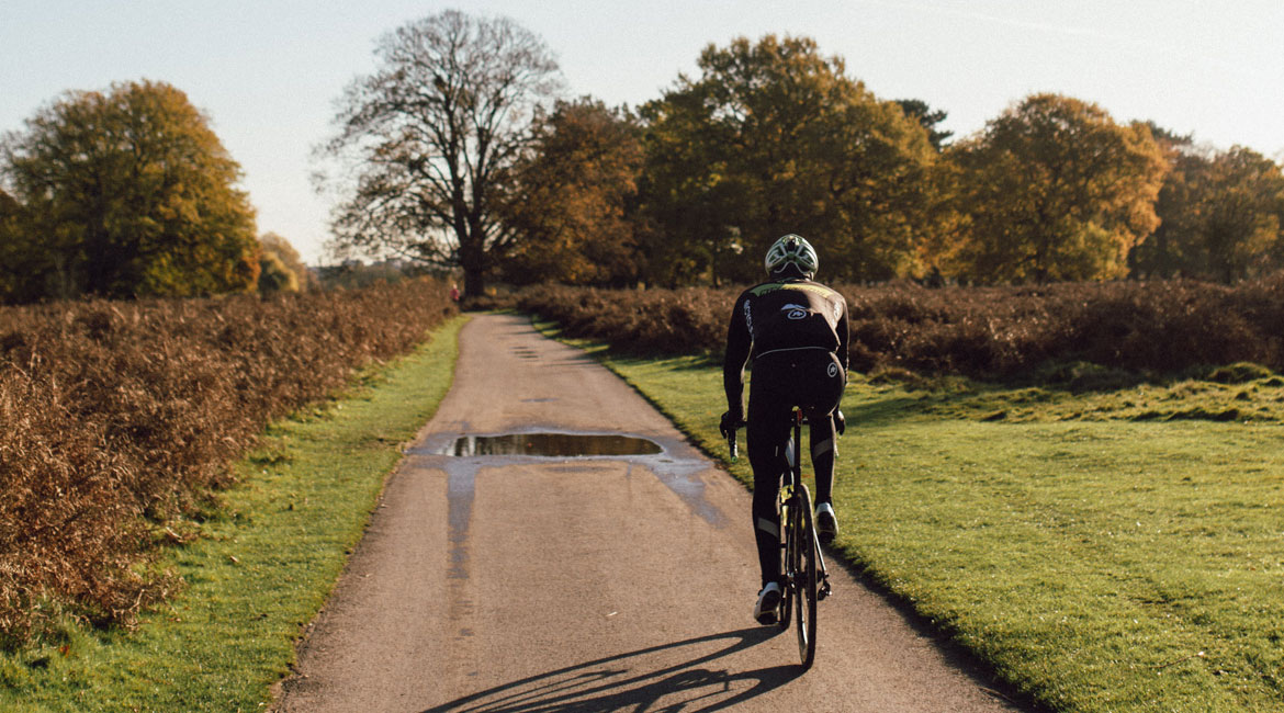 Bruce Berkeley Cycling in Park