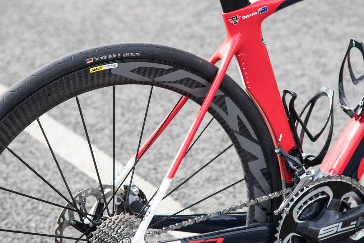 Mavic Cosmic Pro Carbon Disc Centre Lock Clincher Wheelset