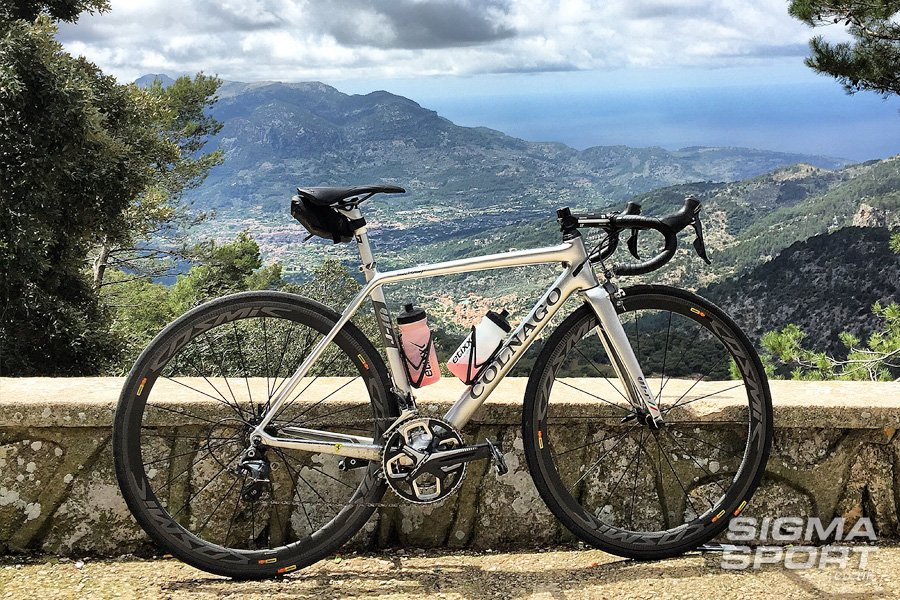Colnago V1-R Review Majorca view