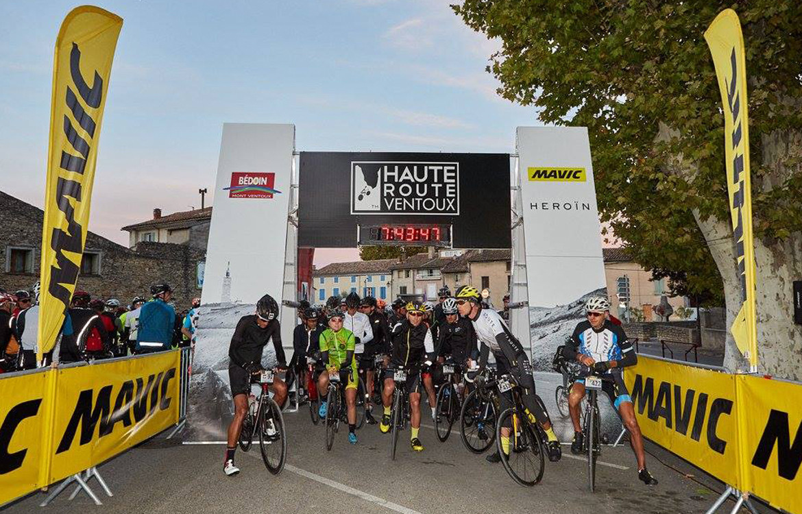 Haute Route Ventoux Day Two Start