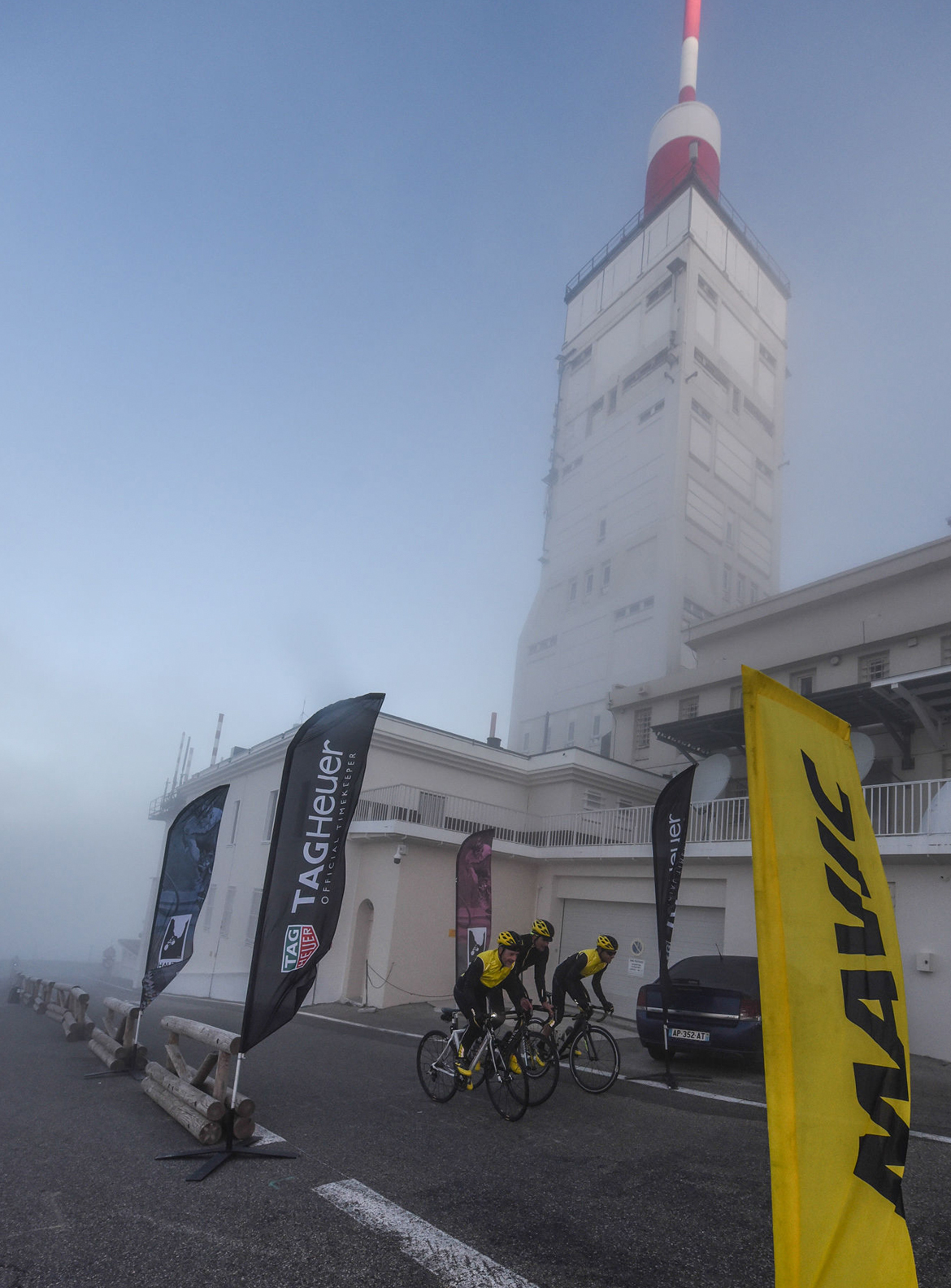 Haute Route Mont Ventoux Summit Weather Station