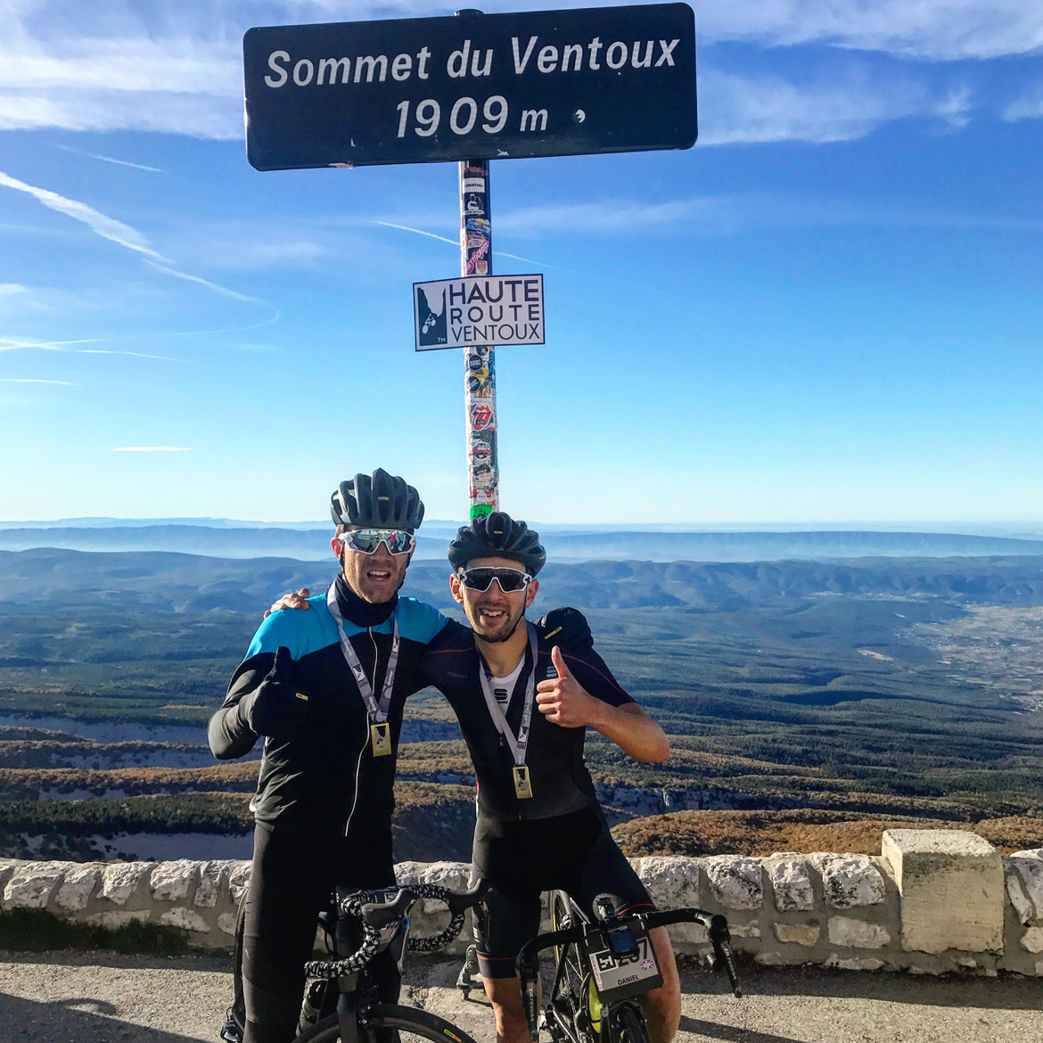 Haute Route Mont Ventoux Finish Summit Sign