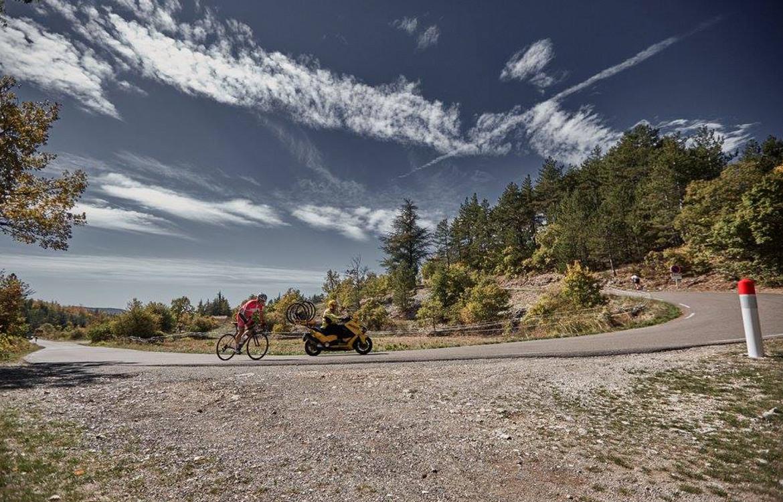 Mont Ventoux corner