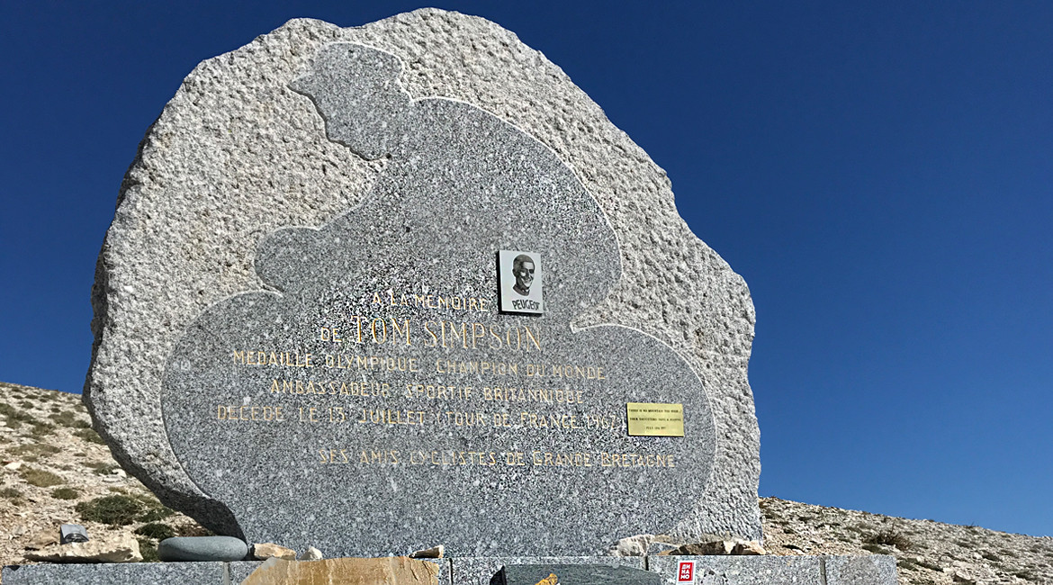 Mont Ventoux Tom Simpson Memorial