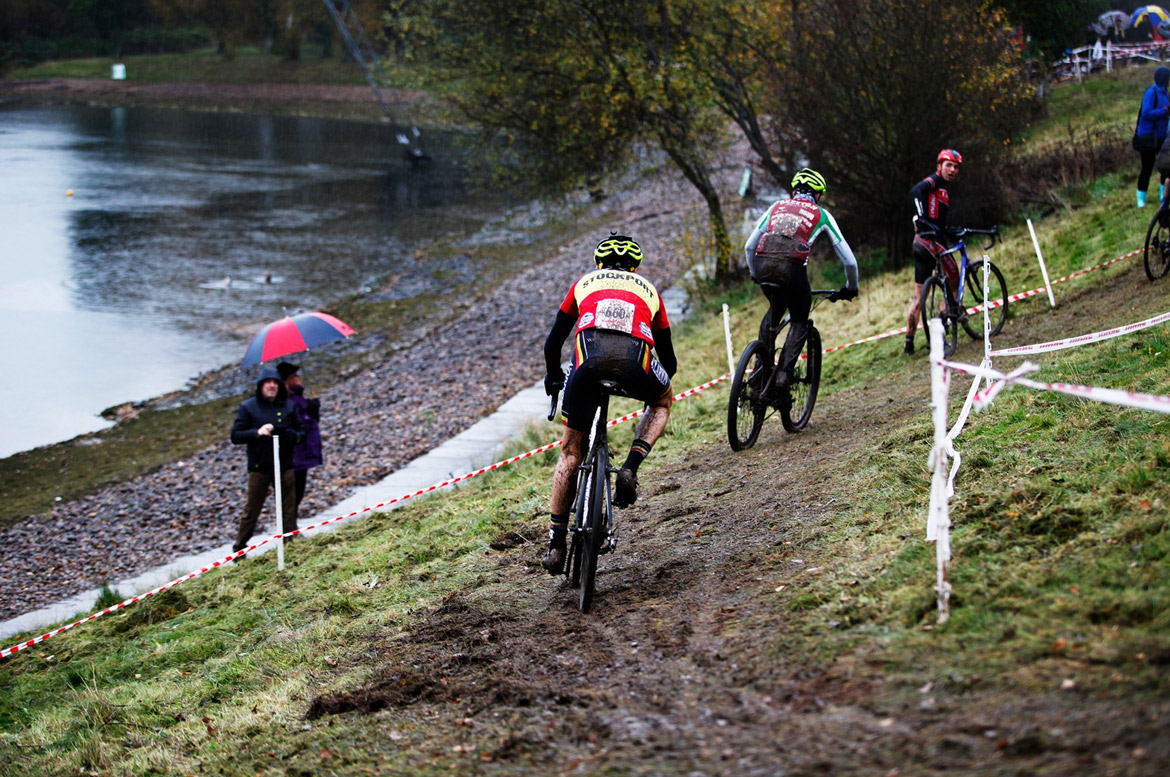 Cyclocross cornering