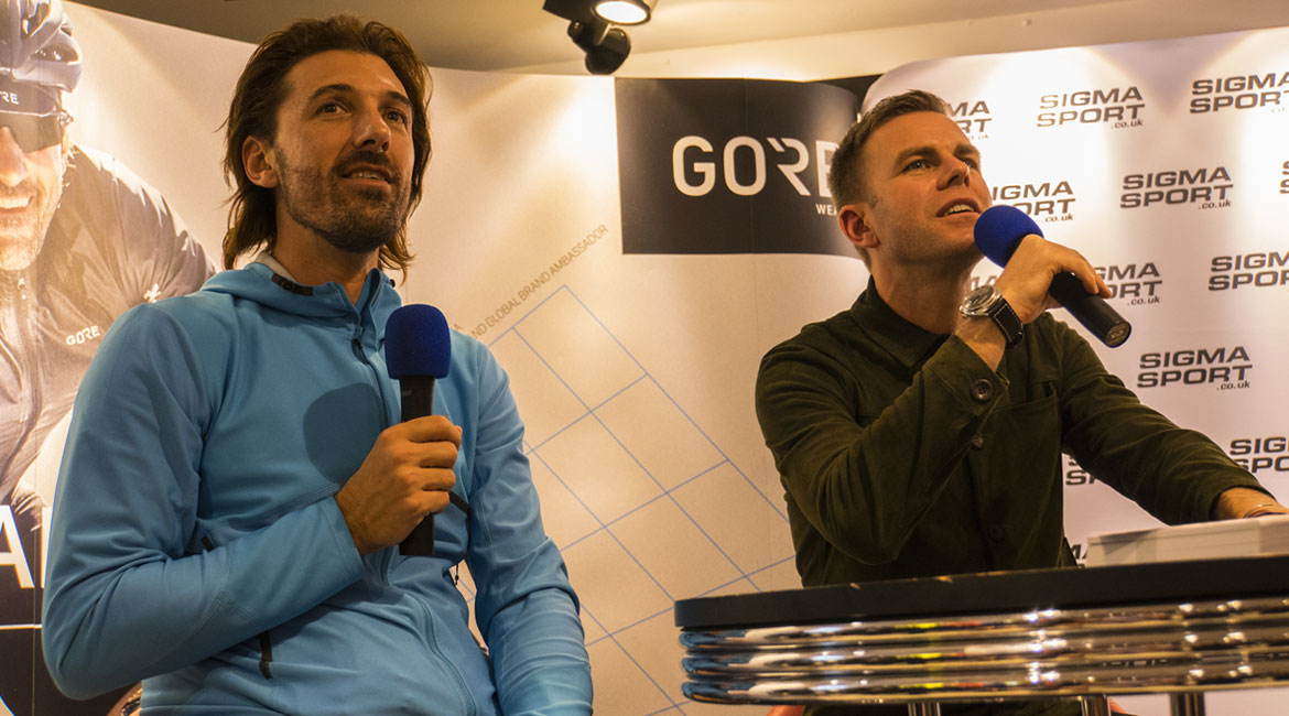 Fabian Cancellara and Matt Barbet Q&A
