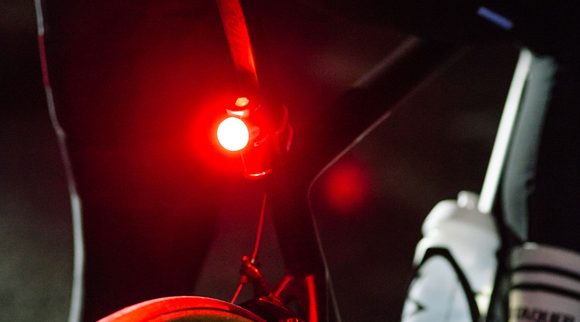 Exposure Lights Blaze MK3 Rear Light with ReAKT and Peloton