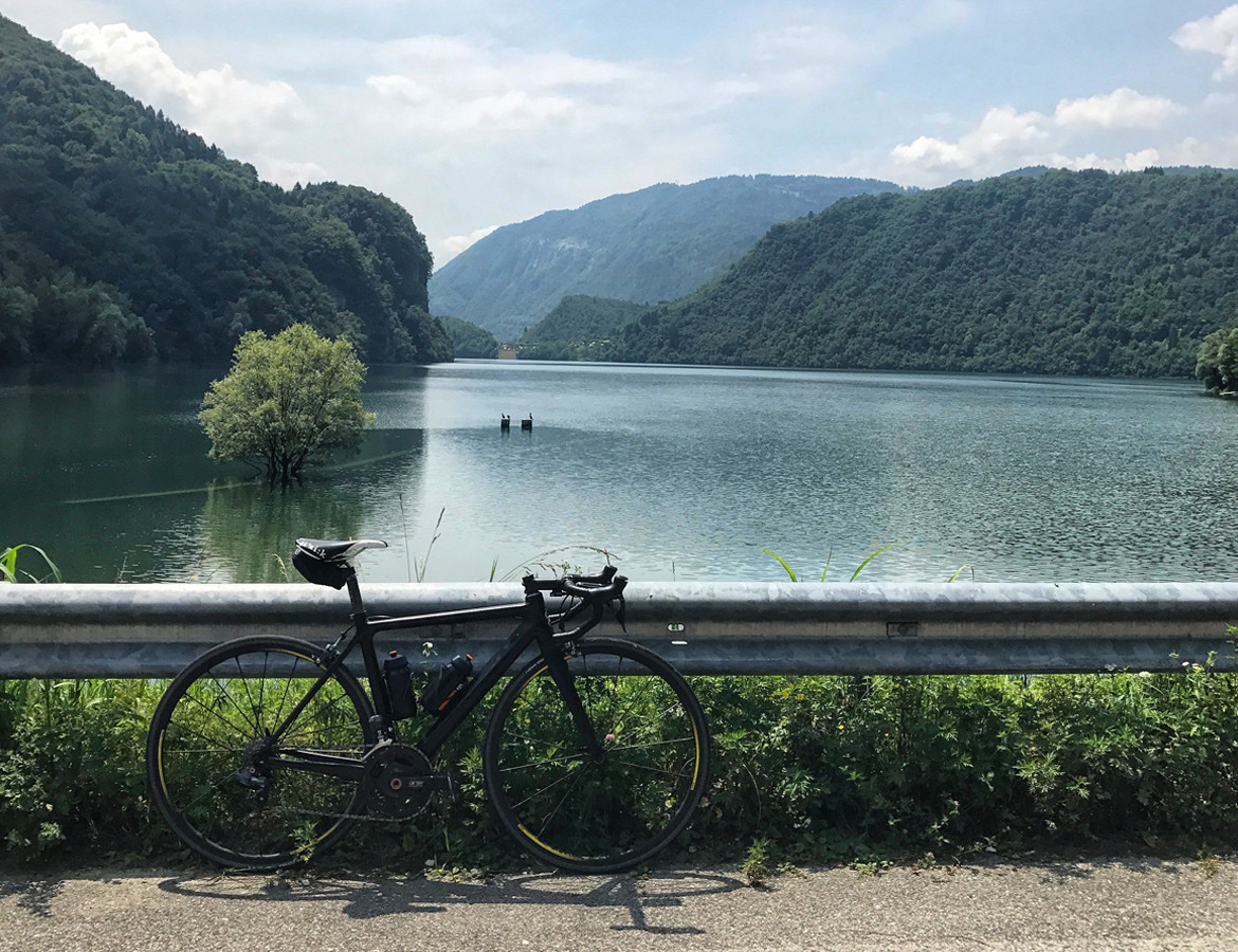 Bike by Lake