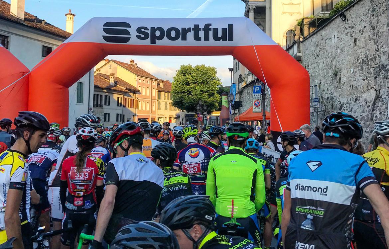 Sportful Dolomiti Gran Fondo Start