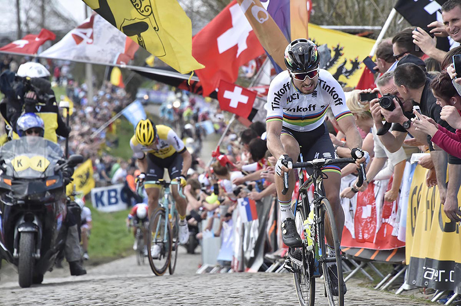 Peter Sagan at Tour of Flanders