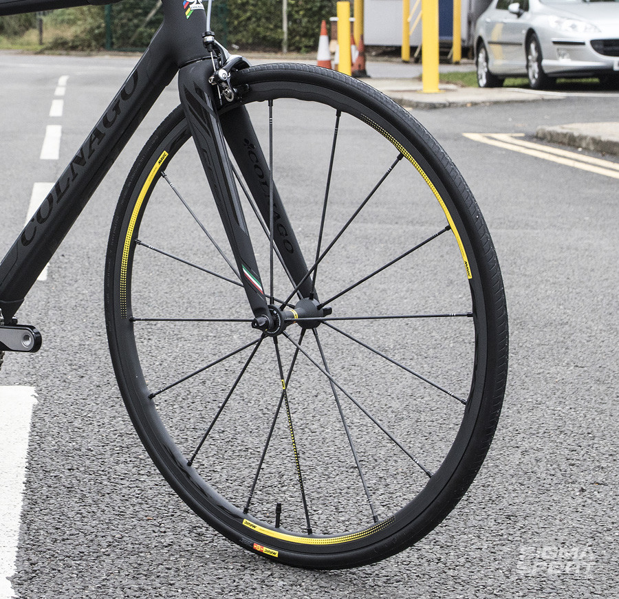 Mavic R-SYS SLR Limited Edition Clincher Wheelset Angle