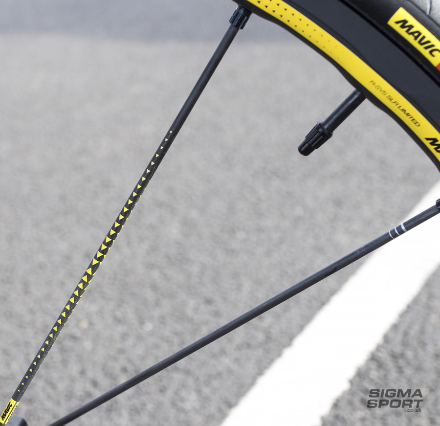 Mavic R-SYS SLR Limited Edition Clincher Wheelset Spokes