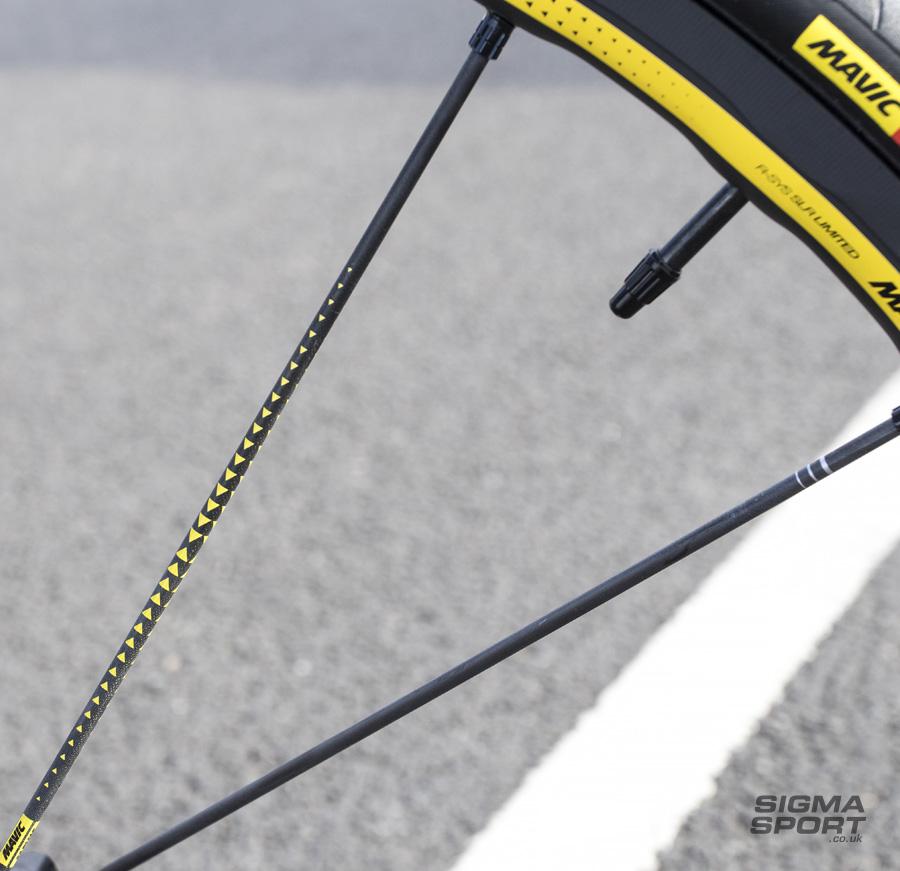 Mavic R-SYS SLR Limited Edition Clincher Wheelset Spokes