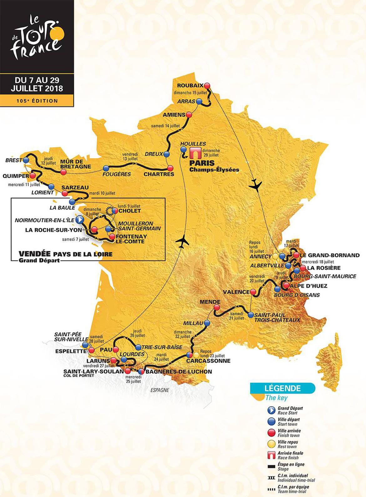 Tour de France 2018 Preview