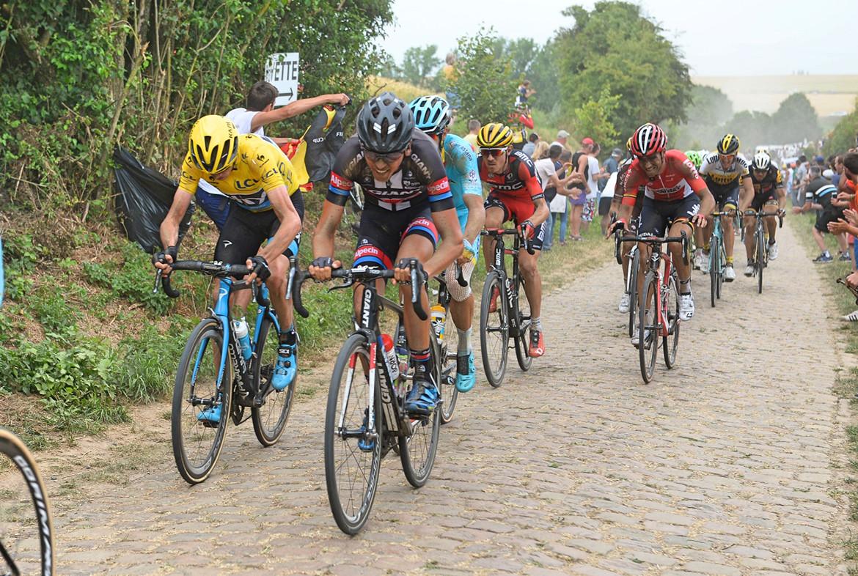 Tour de France Roubaix Cobbles