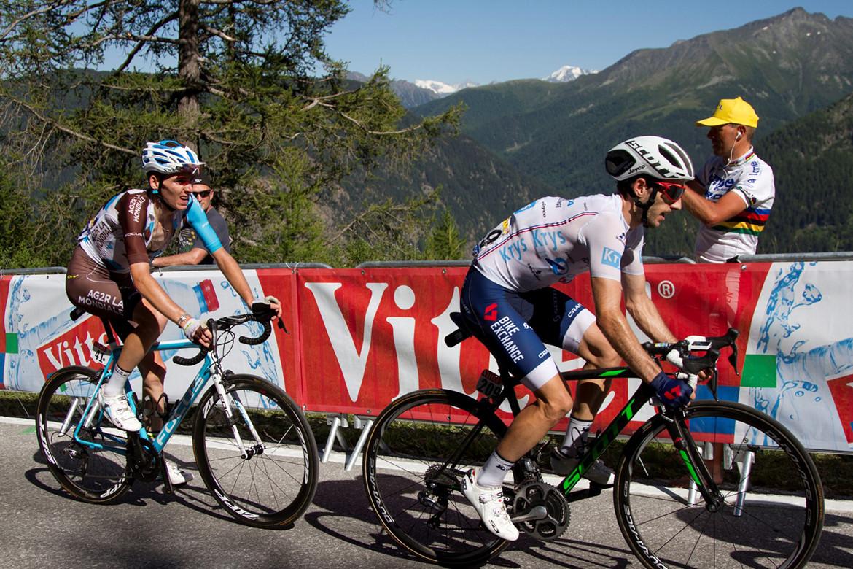 Tour de France Simon Yates & Romain Bardet