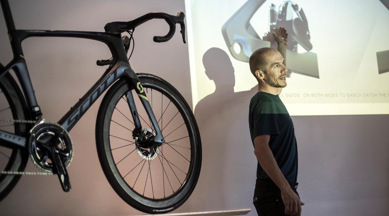 Scott Foil Disc Road Bike 2018 Product Launch Bernoit Grelier