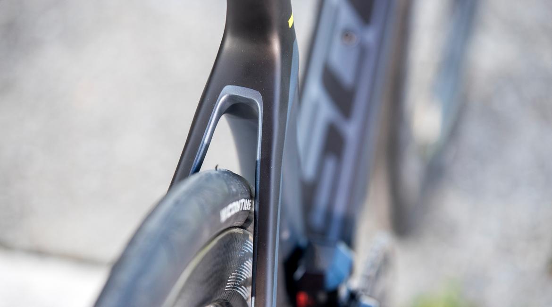 Scott Foil Disc Premium Road Bike 2018 Tyre Clearance