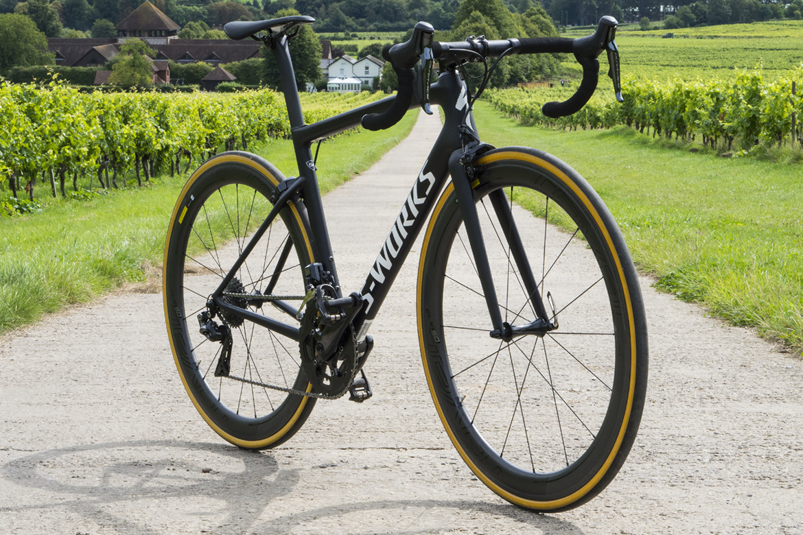 Specialized S-Works Tarmac SL6 Road Bike 2018 Angle