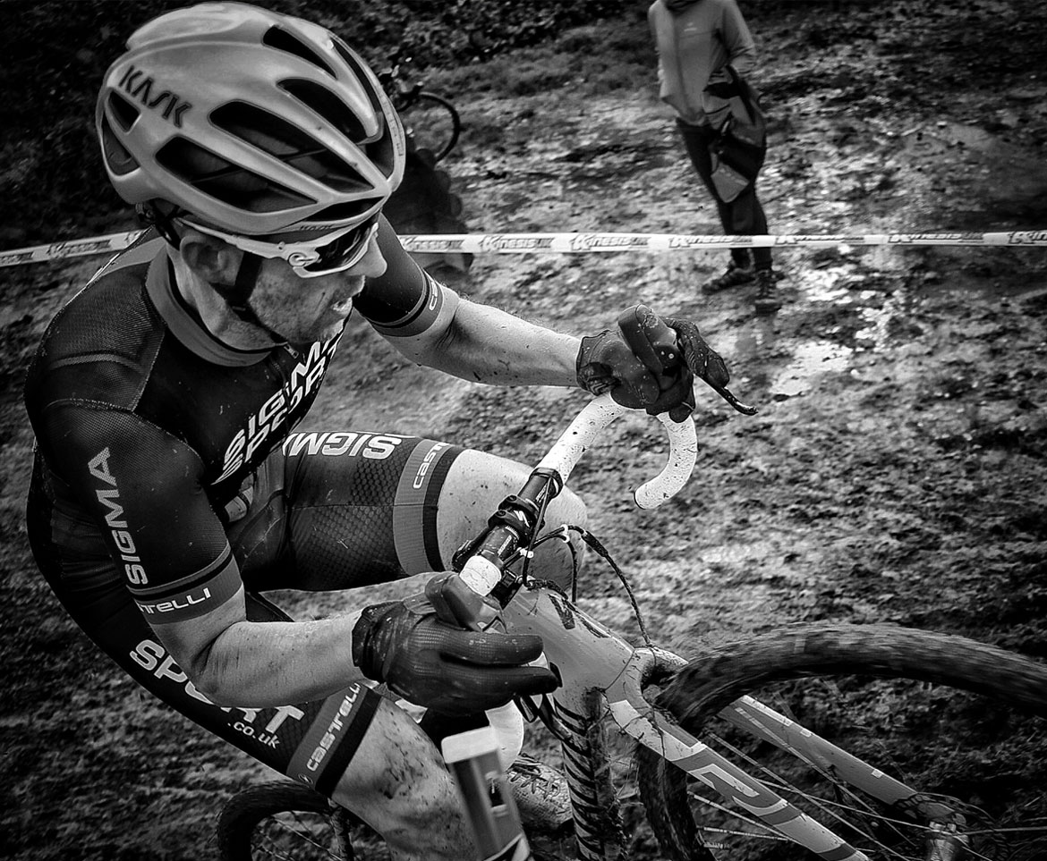Dan Braid Racing Cyclocross on the Specialized Crux Elite X1 Cyclocross Bike