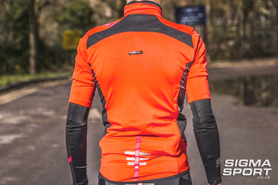 Sportful Fiandre Light NoRain Short Sleeve Jersey Back