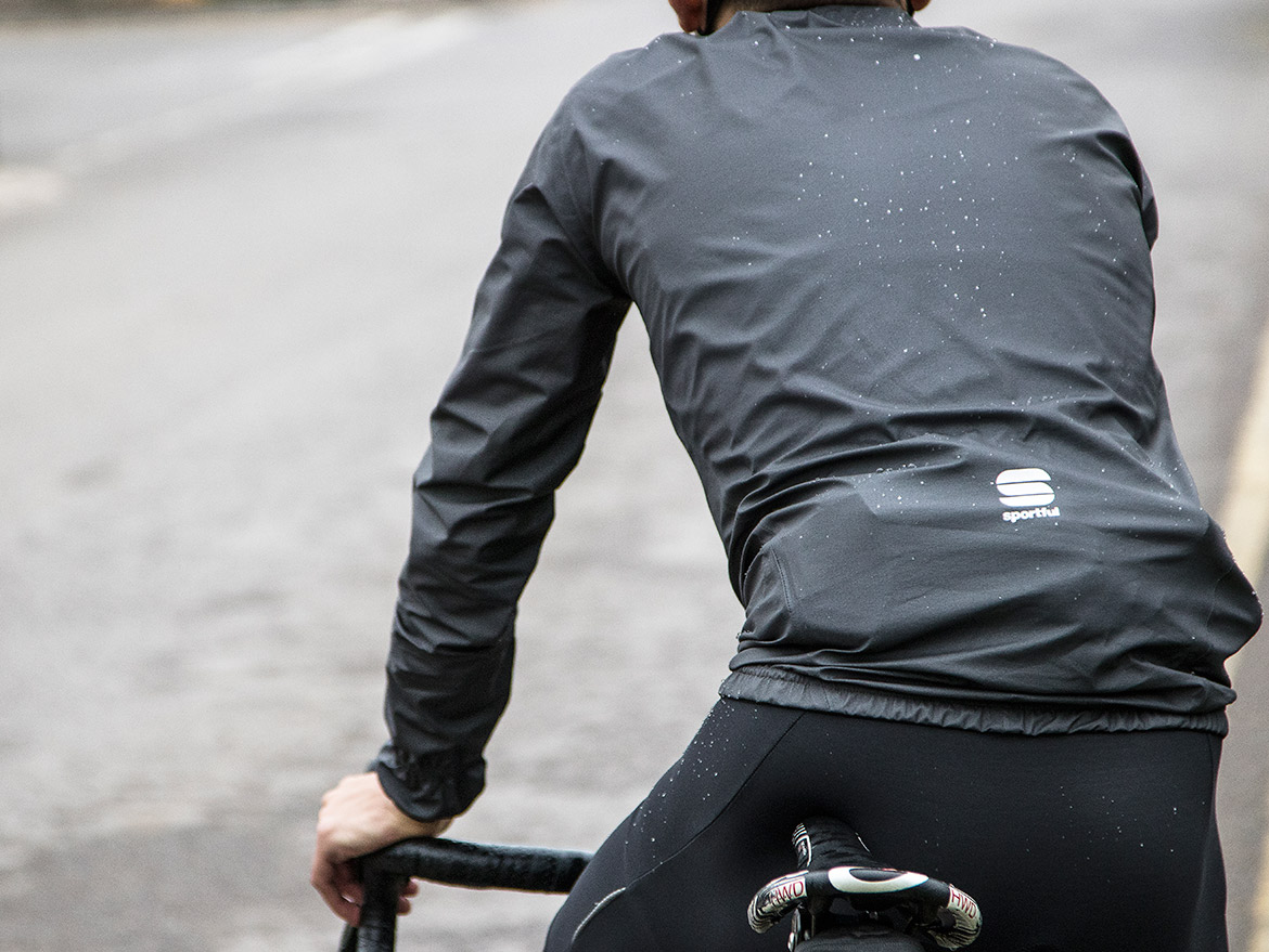 Sportful Stelvio Rain Jacket Rear