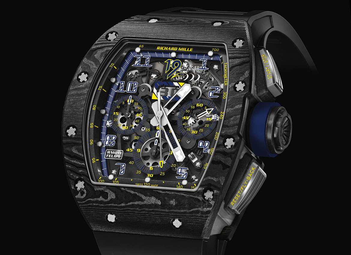 Richard Mille RM-011 Felipe Massa 10th Anniversary 1 Watch