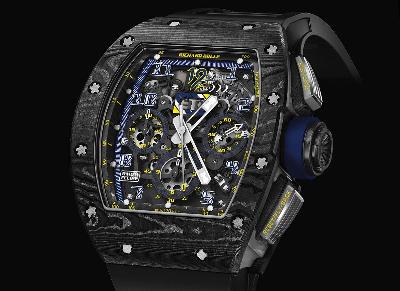 Richard Mille RM-011 Felipe Massa 10th Anniversary 1 Watch