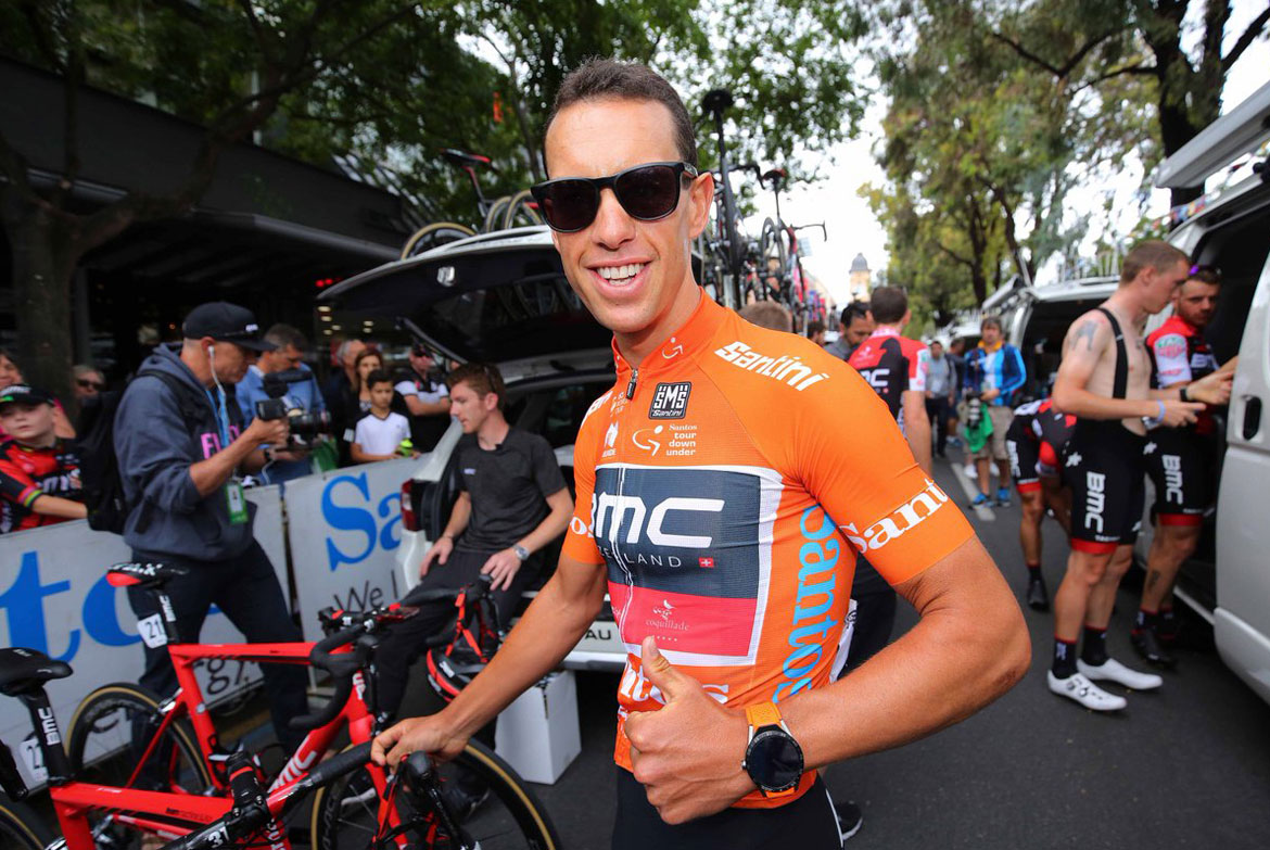 Richie Porte Tag Heuer Connected Modular 45 Watch