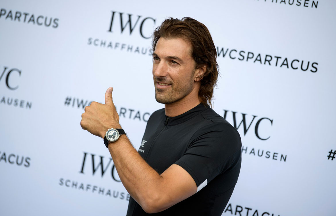 Fabian Cancellara IWC Watch