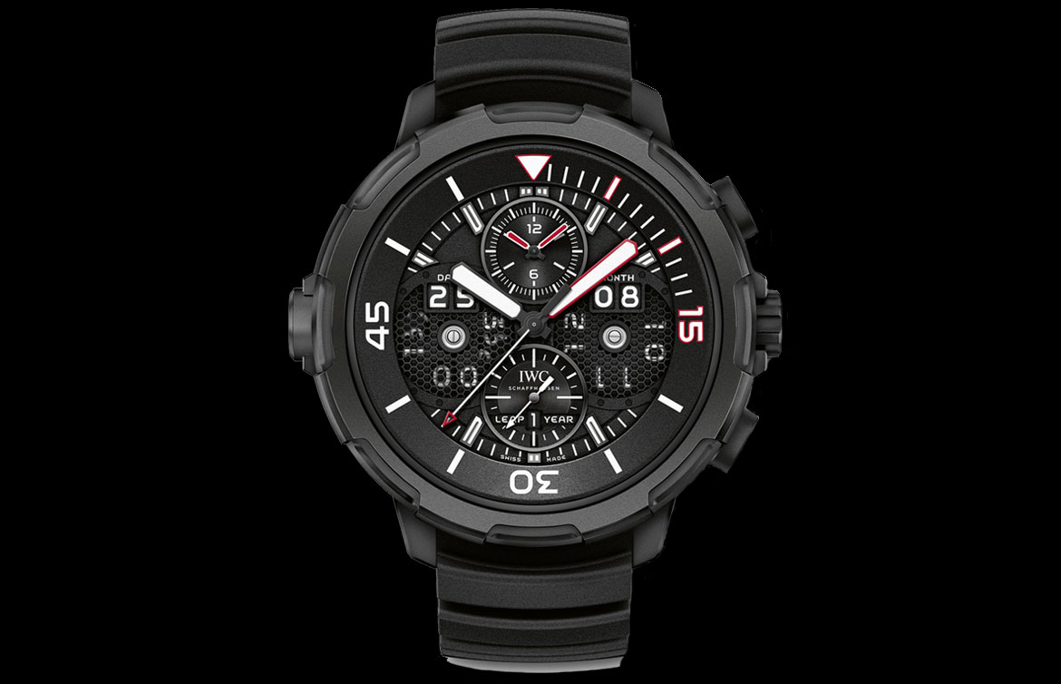 IWC Aquatimer Cancellara Edition Watch